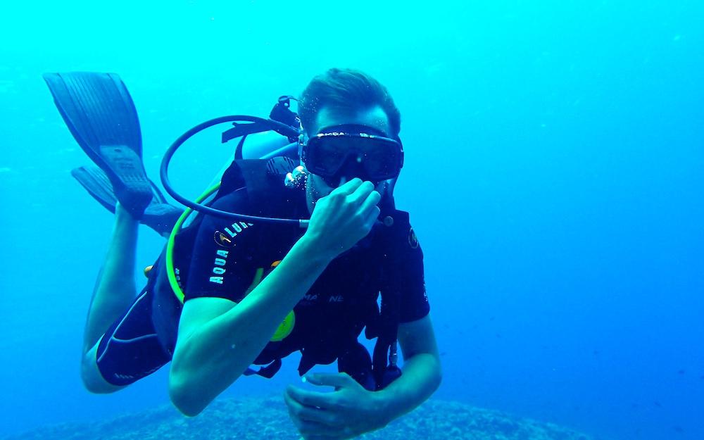 Comienza tu aventura bajo el agua, ScubaSur
