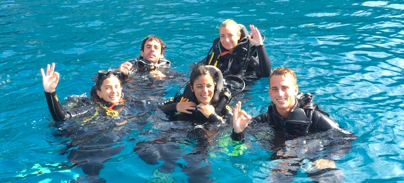 Diving Starts with PADI Open Water, the world's best diving course in Almunñécar and La Herradura