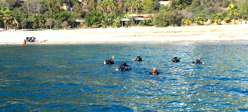 Expertise in PADI Rescue - start the professional journey in La Herradura, Spain