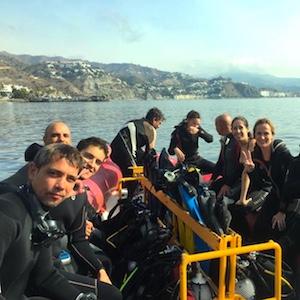Scuba Diving Hotspot, Costa Tropical, Spain